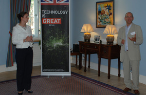 West Midlands Trade Mission Reception in Riga