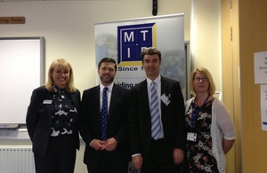 Stephen Crabb at Merthyr Institute for Blind
