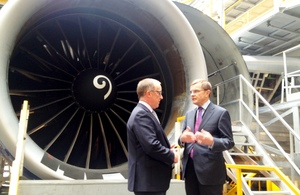 Welsh Secretary visits British Airways Maintenance Centre