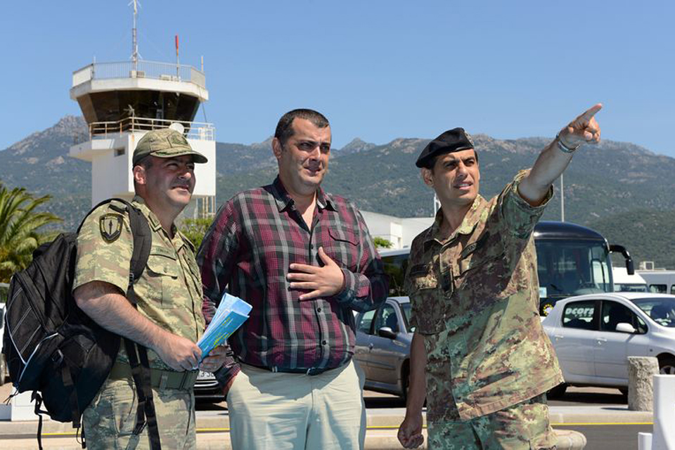 Multinational troops from HQ ARRC taking part in Exercise Arrcade Deployex 13