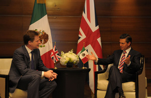 Deputy Prime Minster with Mexican President