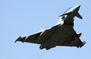 Meteor missile system on a Typhoon aircraft (stock image) [Picture: Copyright Eurofighter, Bryan Walsh]