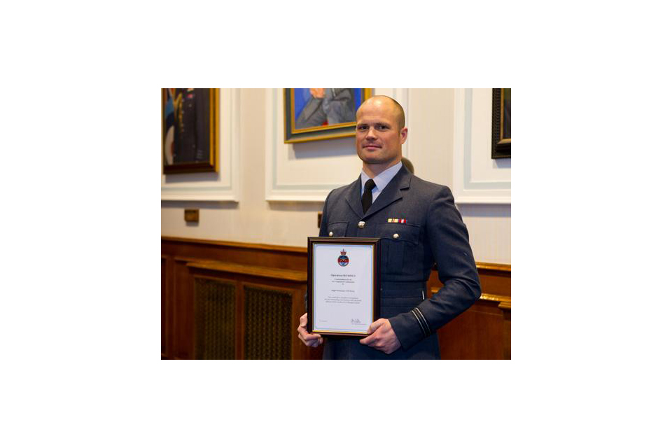 Flight Lieutenant Andrew Norris