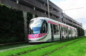 £56 million package to support light rail through recovery period