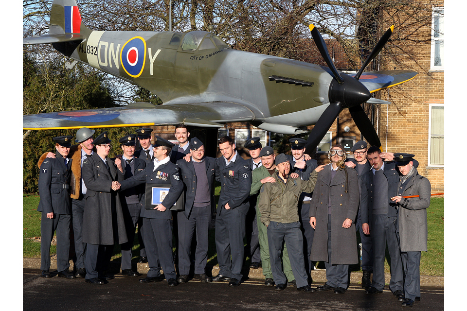 Personnel from the General Engineering Flight at RAF Waddington