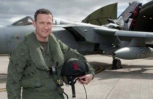 Flight Lieutenant Ian Abson [Picture: Senior Aircraftman Connor Payne, Crown copyright]
