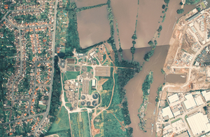 Picture of a flood plain