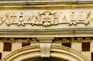 town hall photo