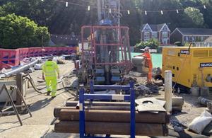 Construction begins on Skewen mine water management scheme