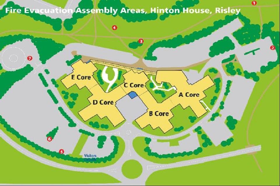 Hinton House external map