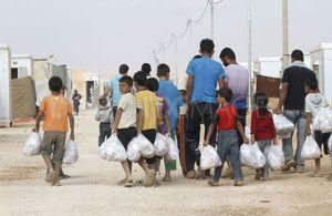 مخيم للاجئين السوريين في الأردن