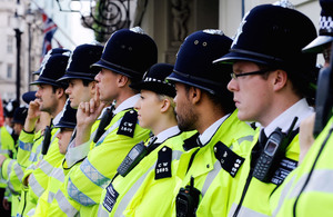 UK Government nearly half-way to recruiting 20,000 more officers