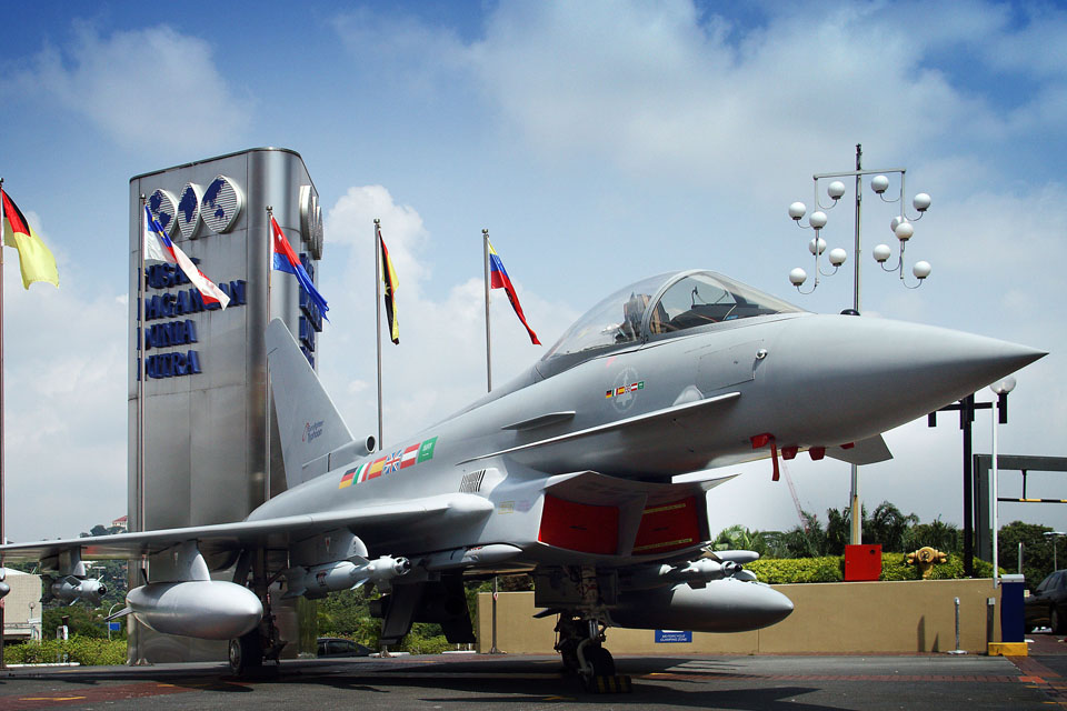 Typhoon replica at Malaysia exhibition 2012 (library image)
