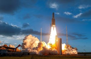World's first fully flexible satellite lifts-off