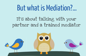 Screenshot of Understanding family mediation