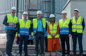 UK Net Zero Treasury Minister visits Humberside green energy cluster