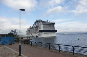 New cruise ship centre supported by UK Government funding aims to encourage tourism to Inverclyde