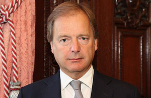 Foreign Office minister Hugo Swire