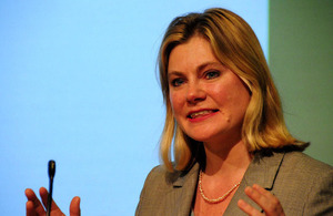 International Development Secretary, Justine Greening. Picture: Benet Coulber/DFID