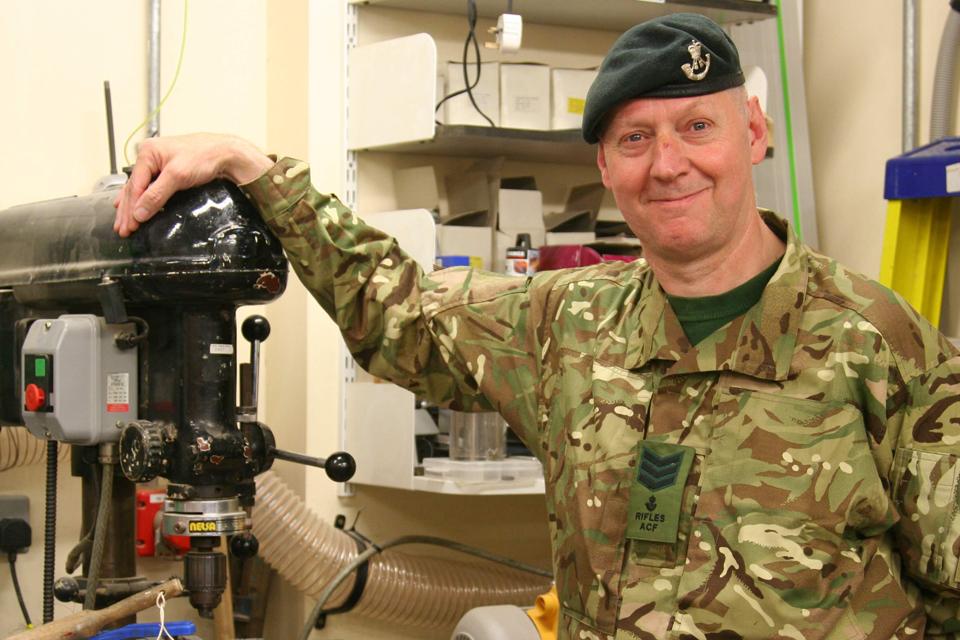Sergeant Trevor Baker