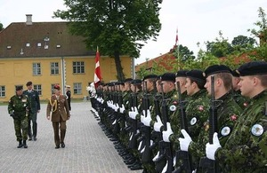 Chief of Defence Staff in Copenhagen