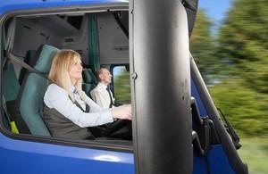 Обучение водителей грузовых автомобилей.