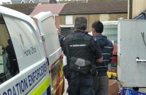 Raids in West London