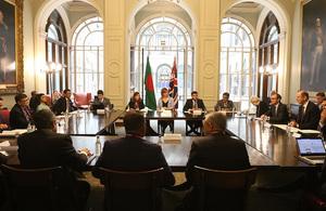 Fourth Bangladesh – UK Strategic Dialogue Communique
