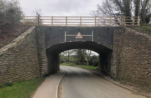 Horspath rail bridge