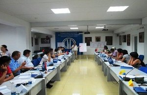 First peace education school takes place in Bishkek