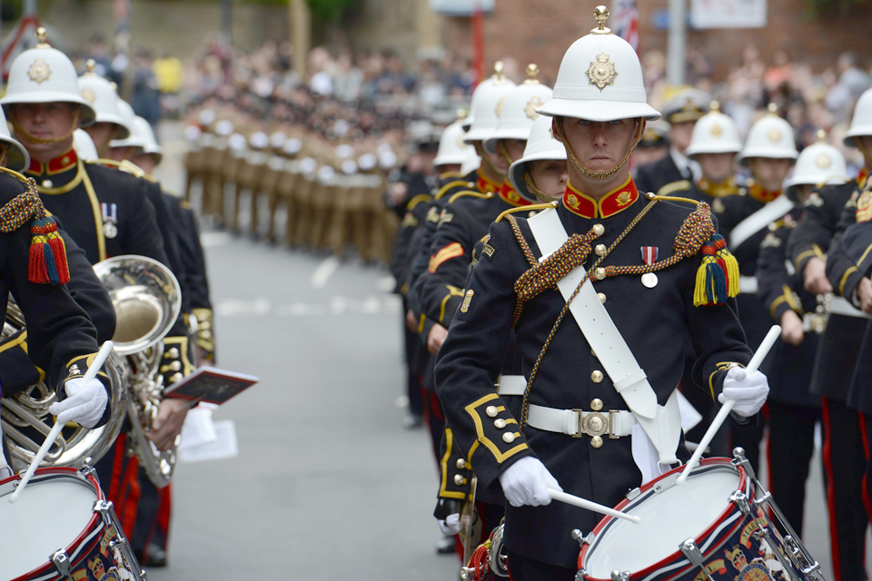 The Band of Her Majesty's Royal Marines Portsmouth