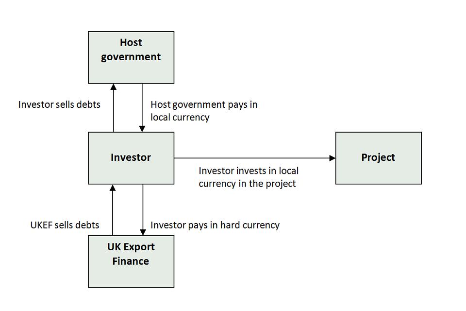 Debt conversion scheme graphic