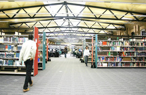 Drill Hall library.