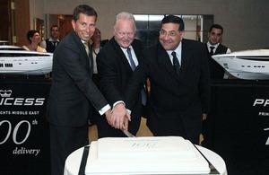 Ambassador Fletcher with Mohamed Chehab & Chris Gates