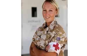 Rebecca Warren, Sergeant, Army Reserve