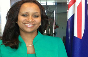 Acting Governor the Hon. Anya Williams