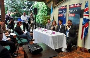 Launch of Darwin Initiative project in Guatemala