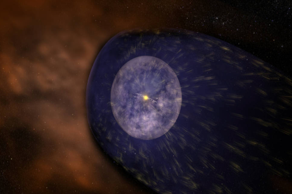 NASA's Interstellar Mapping and Acceleration Probe, or IMAP, will help us better understand the nature of interplanetary space, which is dominated by a constant flow of particles from the Sun called the solar wind. Credit NASA