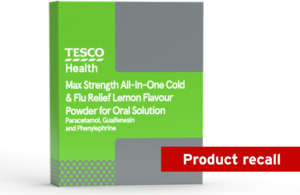 Image of Tesco Max All-In-One Chesty Cough & Cold Lemon Sachets