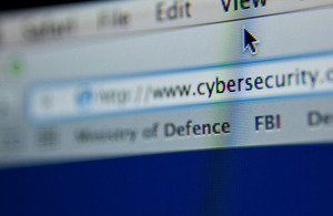 Cyber security (stock image)  [Picture: Harland Quarrington, Crown copyright]