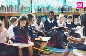 Children at a school