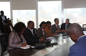 Visit of British Council to Angola