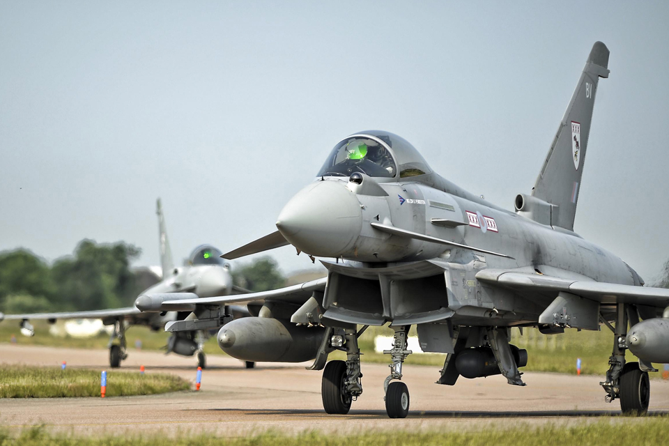 Typhoon Force Completes Largest Ever Training Mission