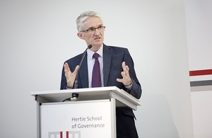 Mark Lowcock, source: Hertie School of Governance
