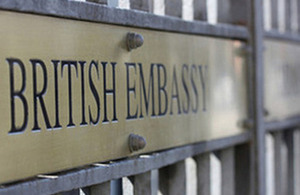 embassy plaque