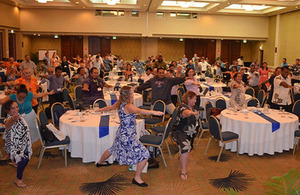 Participants at the Pacific Climate Change Rountable in Nadi