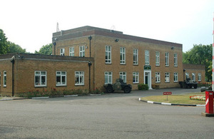 The British Army's Bassingbourn Barracks in Cambridgeshire (library image) [Picture: Crown copyright]
