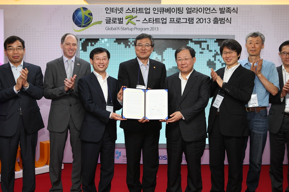 In cooperation with UKTI team in Seoul, the Ministry of Science, ICT and Future is running the 'Global K-Startup Programme 2013' with the goal of creating an ecosystem for internet start-ups