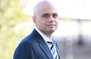 Mr Sajid Javid MP, Economic Secretary to the Her Majesty's Treasury