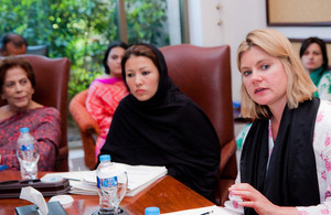 Women meeting with Greening